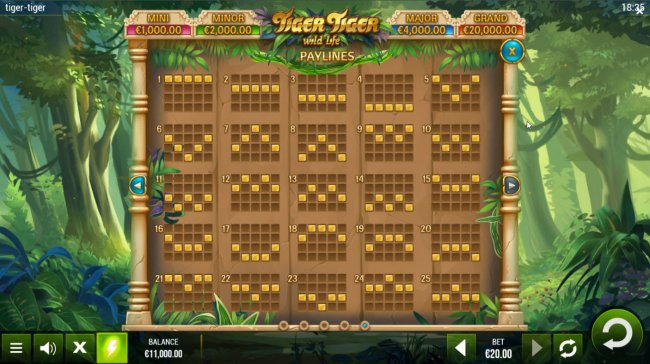 Tiger Tiger Wild Life by Free Slots 247