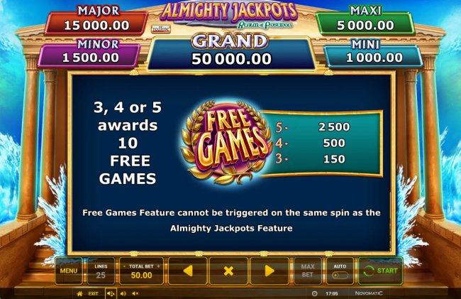 Almighty Jackpots Realm of Poseidon by Free Slots 247