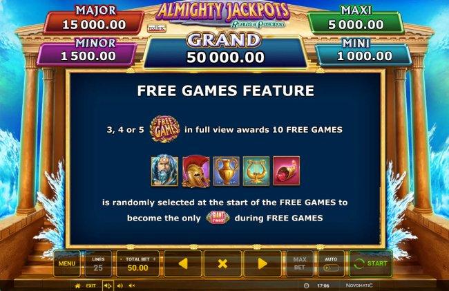 Almighty Jackpots Realm of Poseidon screenshot