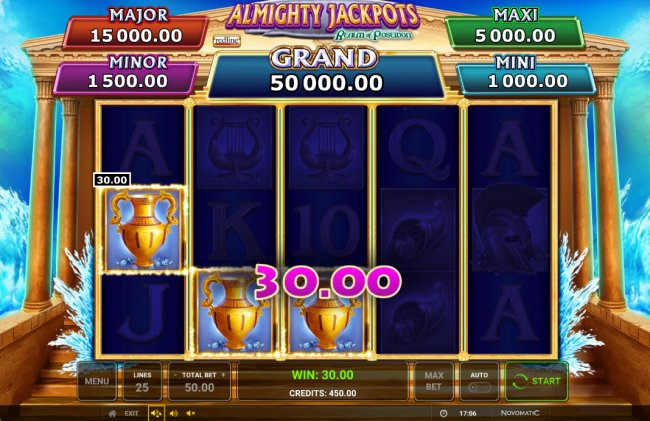 Images of Almighty Jackpots Realm of Poseidon
