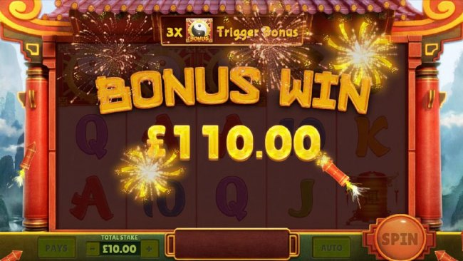 panda wheel bonus feature pays out $110 - Free Slots 247