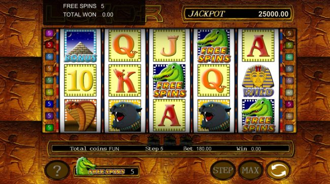 Free Slots 247 image of Luxor