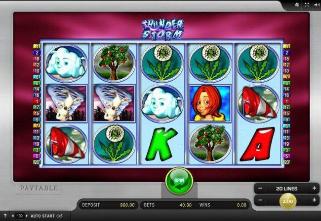 Thunder Storm Slot Machine