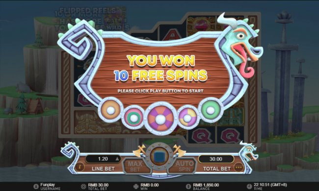 Free Slots 247 - 10 Free Games Awarded