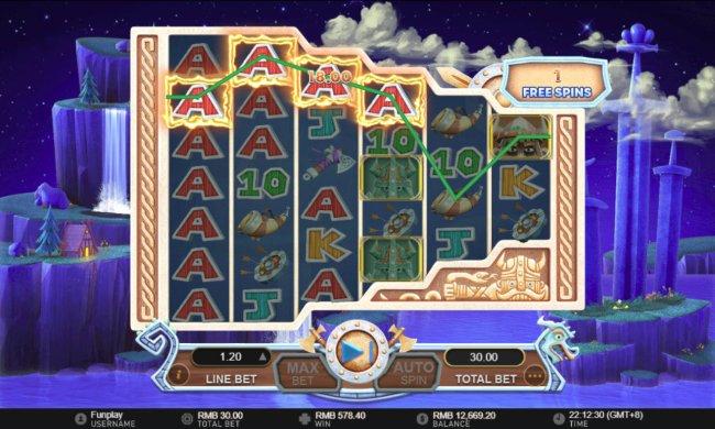 Vikings Mega Reels by Free Slots 247