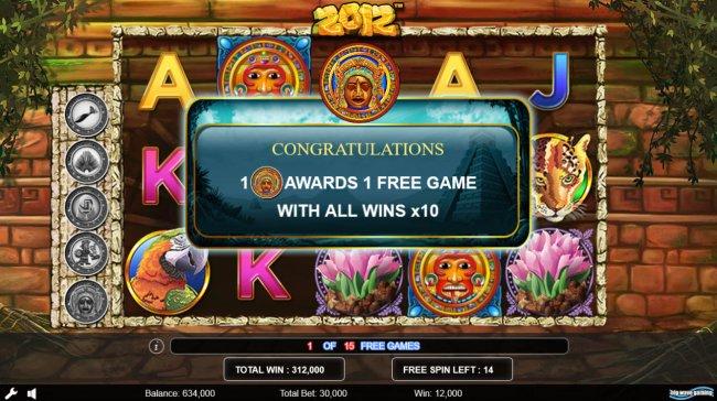 Free Slots 247 - Extra free game awarded