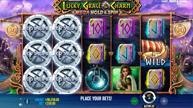 Scatter symbols triggers the Hold and Spin feature by Free Slots 247