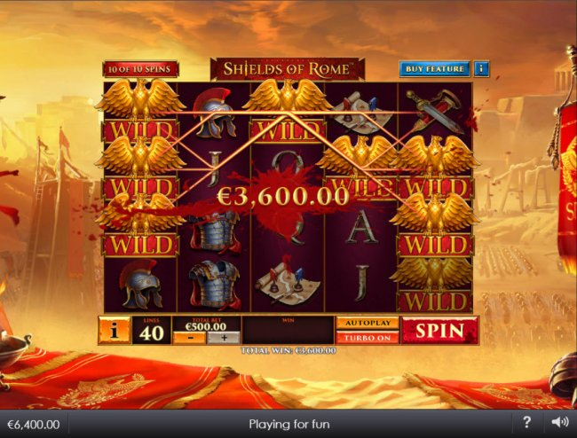 Free Slots 247 image of Shields of Rome