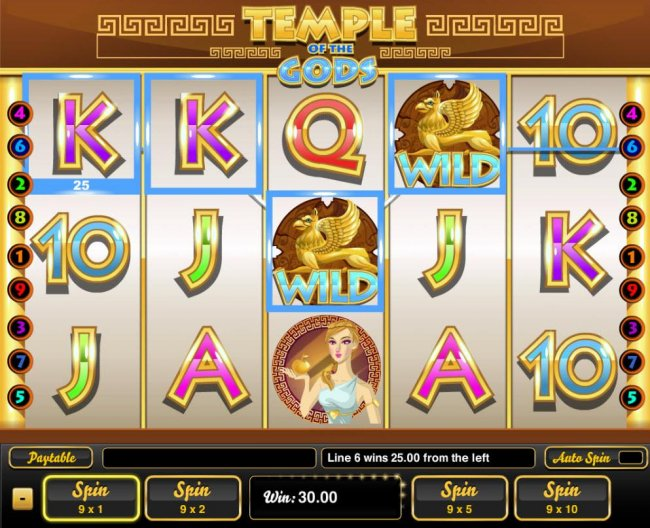 Free Slots 247 - The game pays from left to right and right to left.