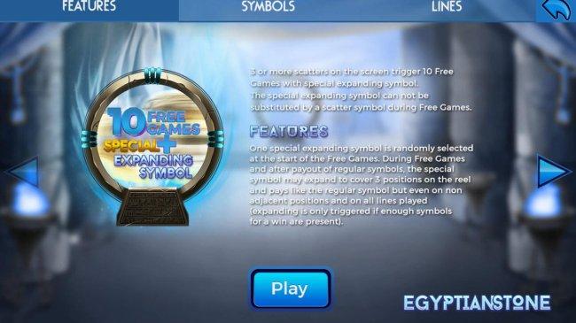 Free Slots 247 image of Egyptian Stone