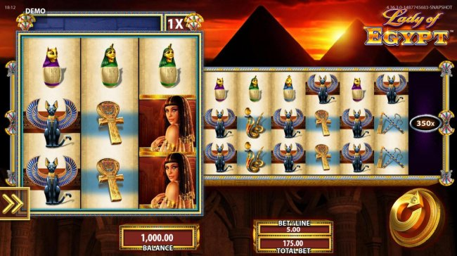 Lady of Egypt by Free Slots 247