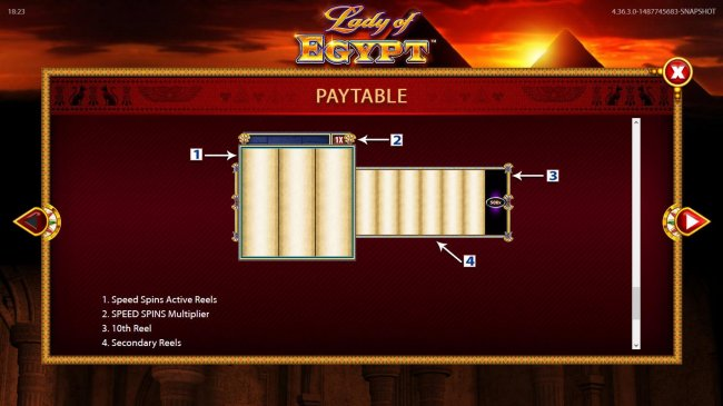 Free Slots 247 - Reels Layout and Description.