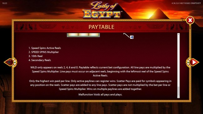 Images of Lady of Egypt