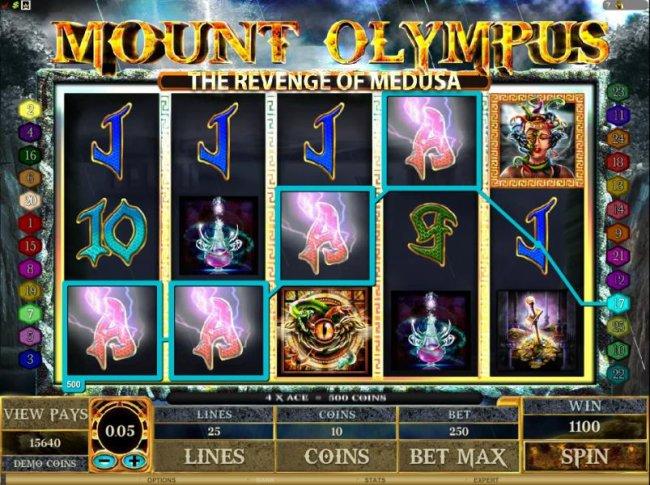 Mount Olympus - The Revenge of Medusa screenshot