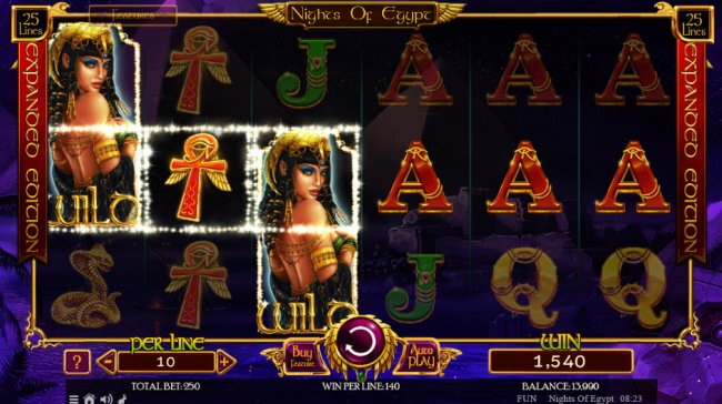 Nights of Egypt Expanded Edition by Free Slots 247