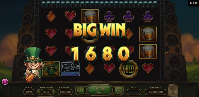 Free Slots 247 - Multiple winning combinations triggers a 1680 coin big win