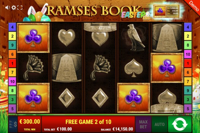 Ramses Book Easter Egg by Free Slots 247