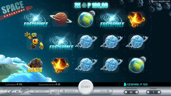 Space Adventure by Free Slots 247