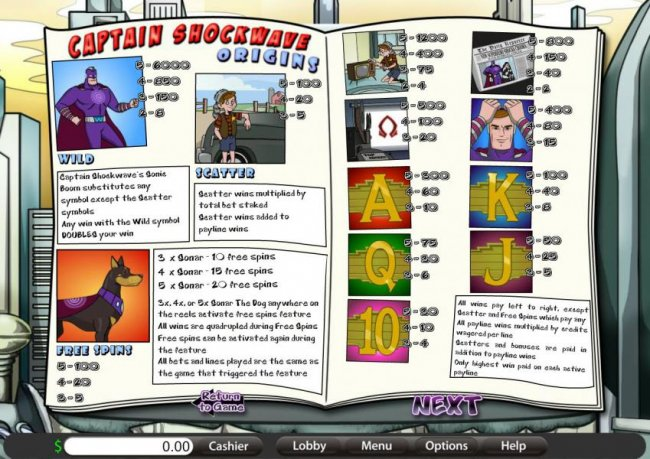 Captain Shockwave by Free Slots 247