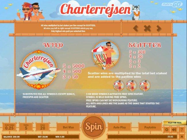 Charterrejesn screenshot