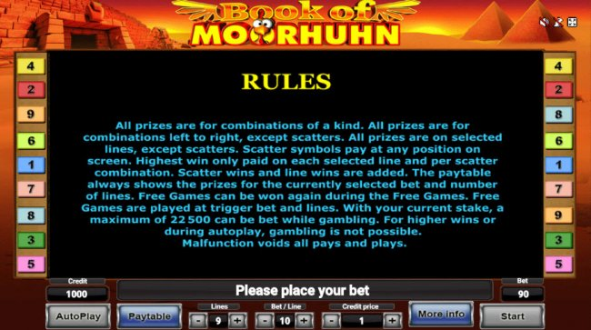 Book of Moorhuhn by Free Slots 247