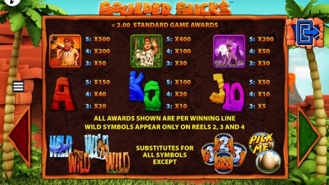 Boulder Bucks screenshot