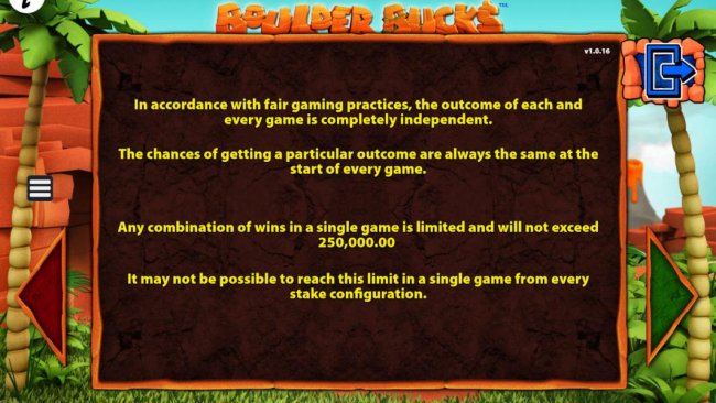 Free Slots 247 - Any combinatio of wins in a single game is limited and will not exceed 250,000.00