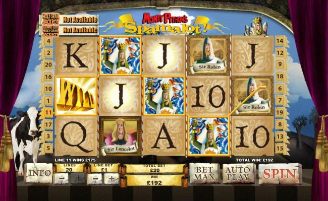 A big win triggered by a Four of a Kind - Free Slots 247