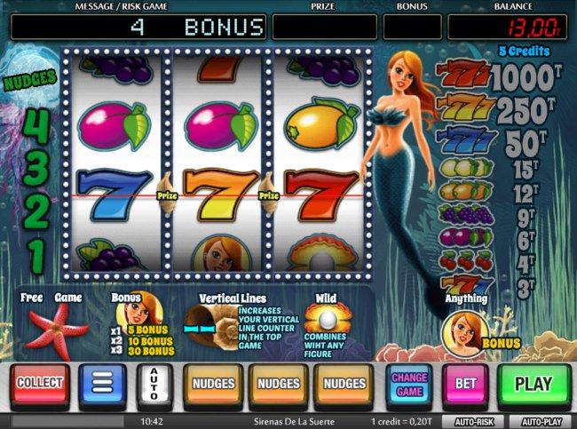 Sirenas de la Suerte by Free Slots 247