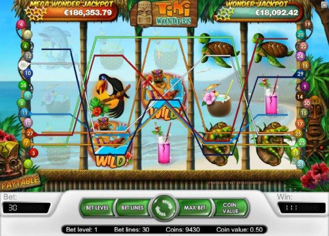 Tiki Wonders screenshot