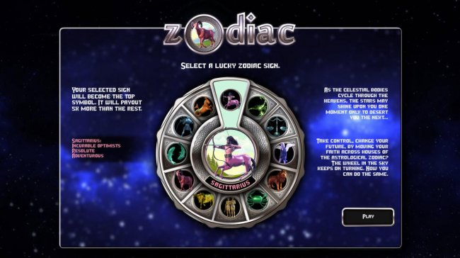 Select a zodiac sign - Free Slots 247