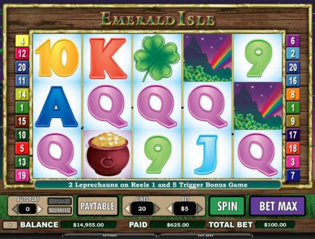 Emerald Isle by Free Slots 247