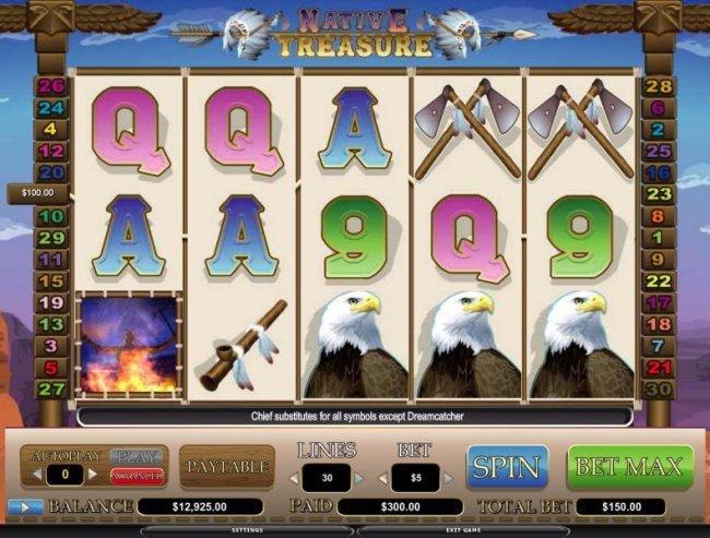 Native Treasure screenshot