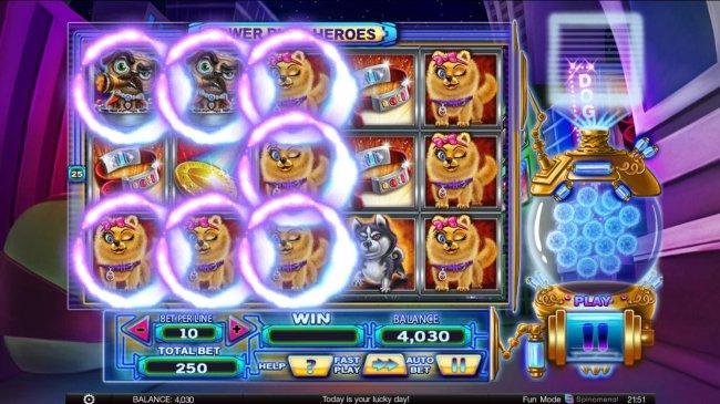 Power Pups Heroes by Free Slots 247