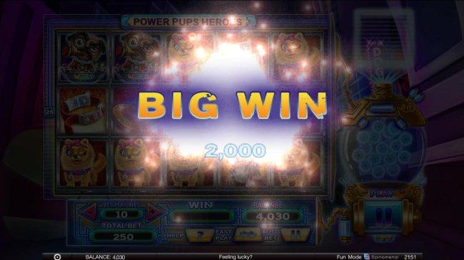 2000 coin big win - Free Slots 247