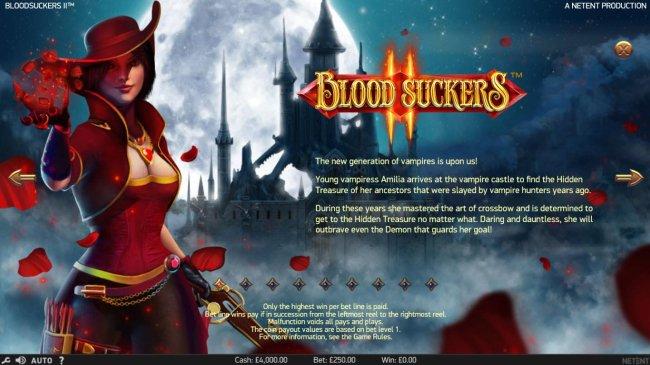 Free Slots 247 image of Blood Suckers II