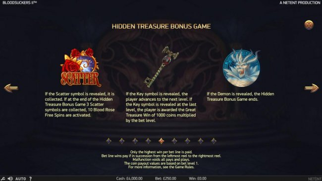 Hidden Treasure Bonus Rules - Free Slots 247