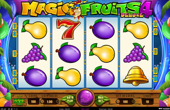 Magic Fruits 4 Deluxe by Free Slots 247