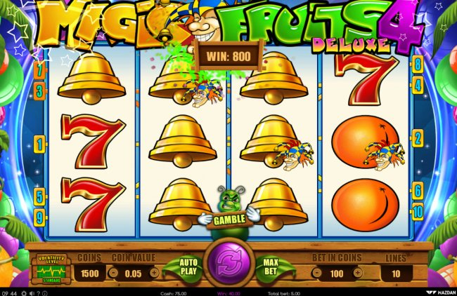 Free Slots 247 image of Magic Fruits 4 Deluxe
