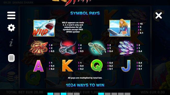Savage Shark by Free Slots 247