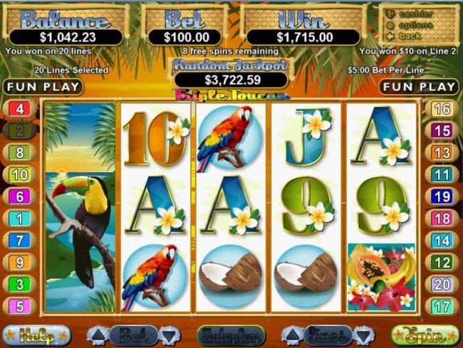 Triple Toucan by Free Slots 247