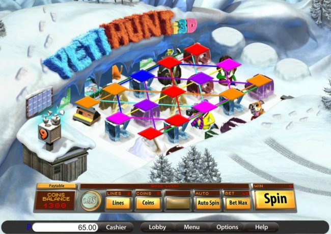 the game is configured with nine paylines - Free Slots 247