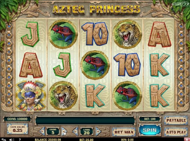 Free Slots 247 image of Aztec Princess