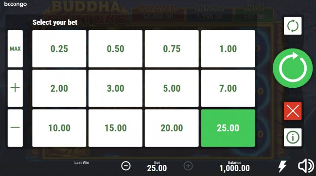 Buddha Fortune Hold and Win screenshot