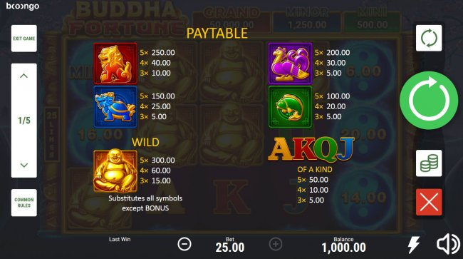 Buddha Fortune Hold and Win by Free Slots 247