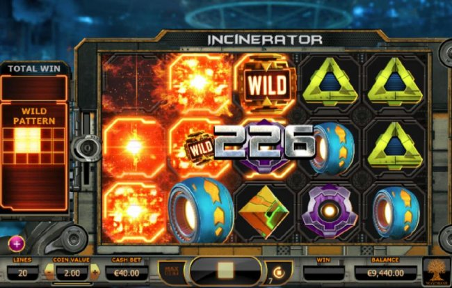 Incinerator by Free Slots 247