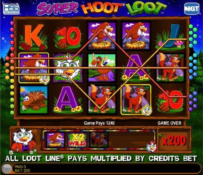 Free Slots 247 image of Super Hoot Loot