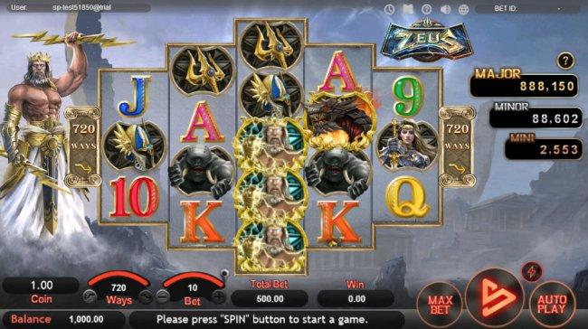 Free Slots 247 image of Zeus