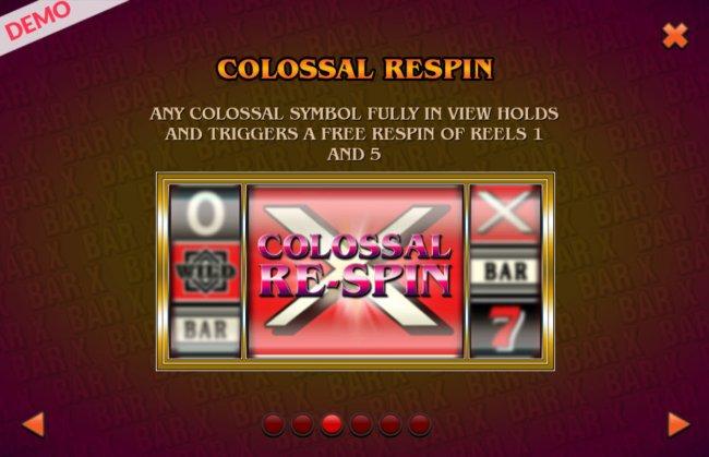 Free Slots 247 image of BAR X Colossal
