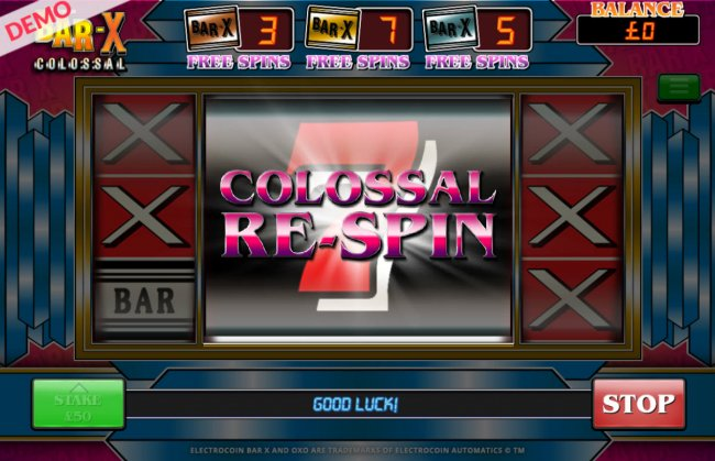 Respin feature triggered by Free Slots 247